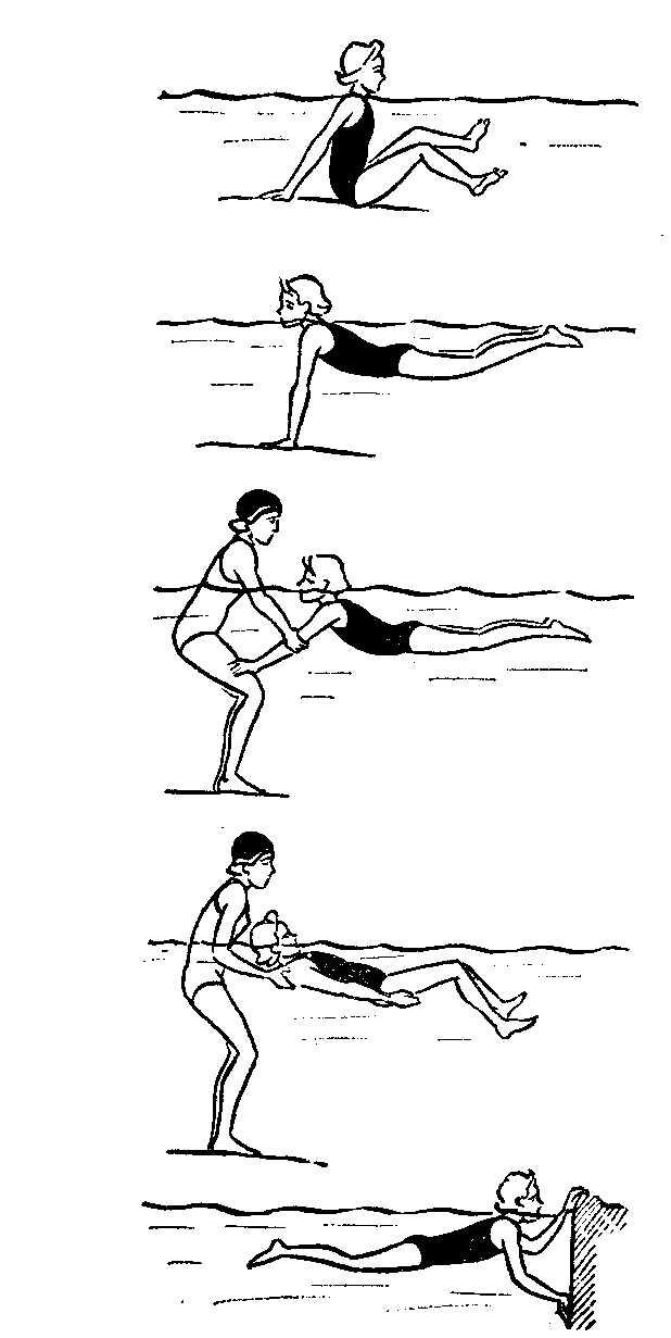 Схемы обучения плаванию